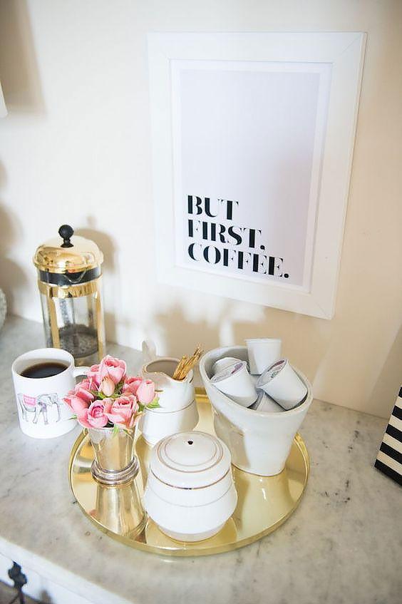 Jak urządzić idealny kącik kawowy