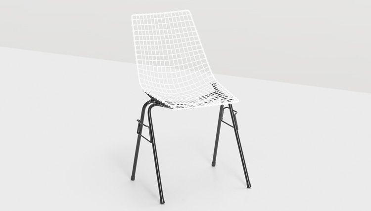 Krzesło siatkowe