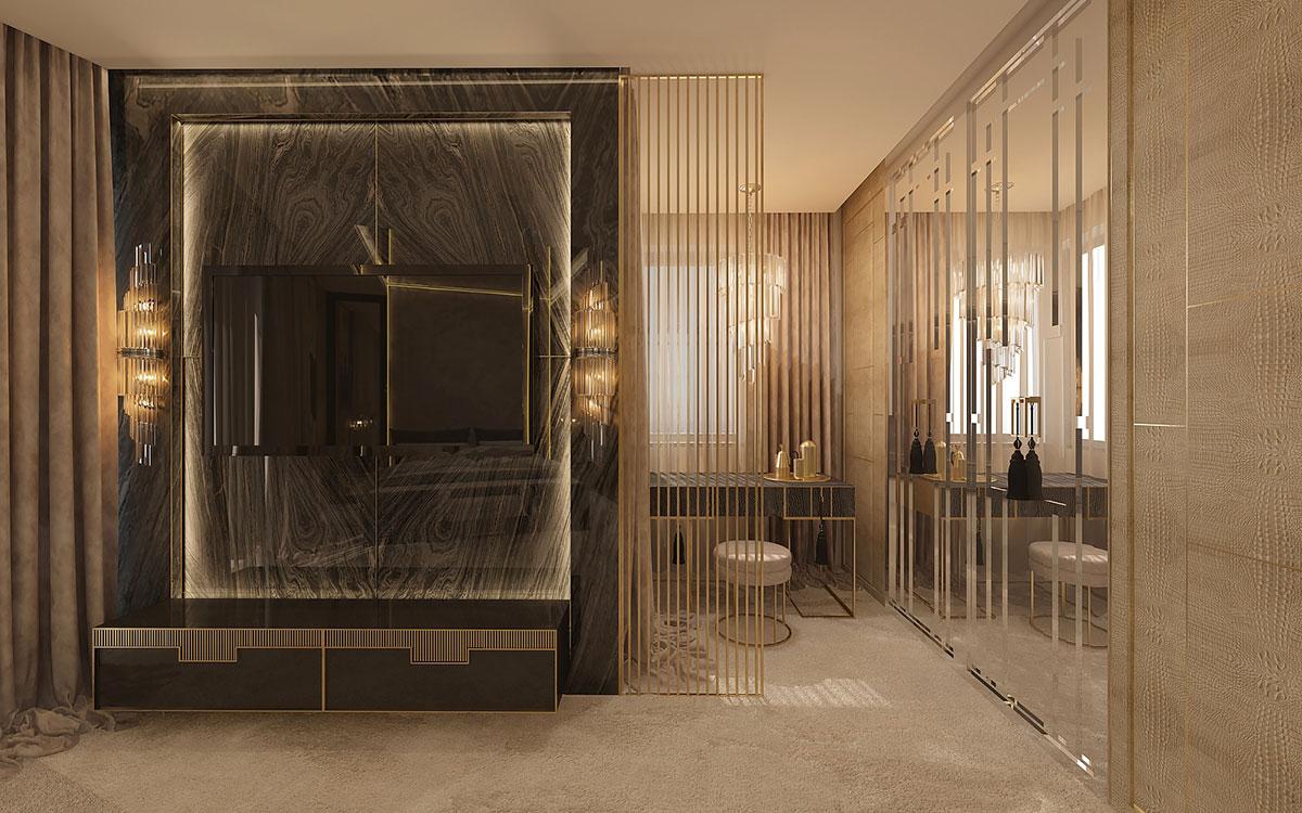 Projekt apartamentu