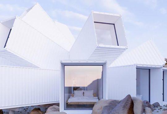 Geometryczny dom Joshua Tree