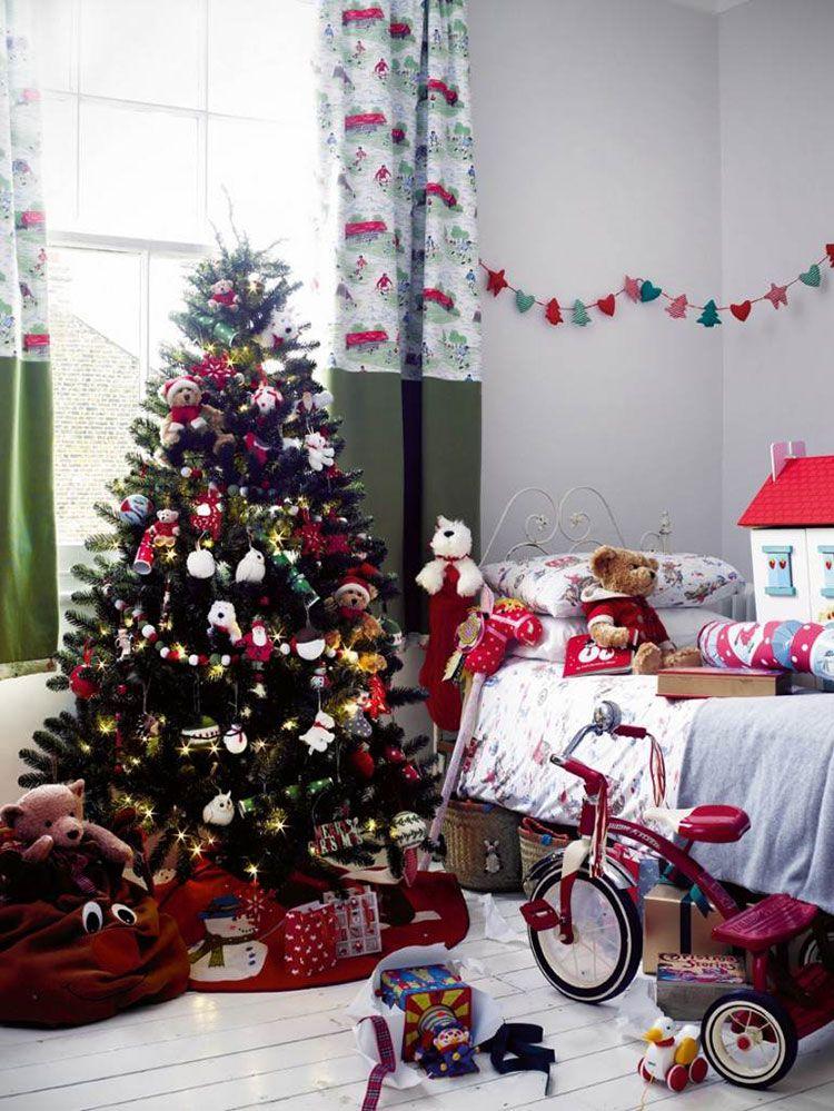 Świąteczne akcenty w pokoju dziecięcym